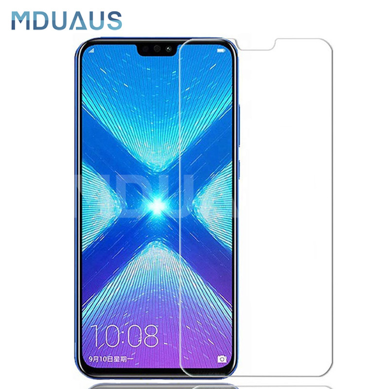 9H Tempered Glass For Huawei Honor 8X 8A 8C 9i 10i 20i Screen Protector Honor 20 V20 V9 Play Note 10 Protective Glass Film Case