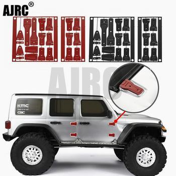 AXIAL AXI03007 SCX10 III Metal Hinges JEEP Wrangler Metal Hinges Red/Black/Silver Tailgate Door Cover Hinged Door Hinges цена 2017