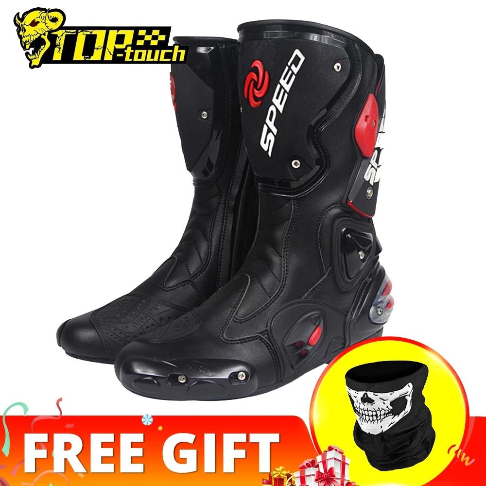 PRO-BIKER SPEED BIKERS; мотоциклетные ботинки; мужские ботинки для мотогонок, мотокросса, внедорожного мотоцикла; мотоциклетная обувь; Botas Moto; сапоги д...