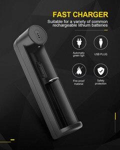 Image 4 - PHOMAX светодиодный интеллектуальный индикатор с 1 слотом, быстрая зарядка 18650 IMR/li ion AA AAA 16340 18700 17650 3,7 4,2 В, зарядное устройство для аккумуляторных батарей
