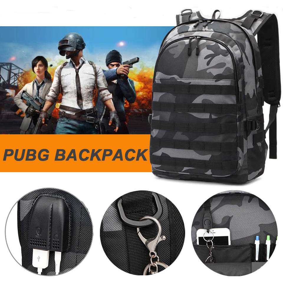 PUBG Backpack Tactical Military Waterproof Outdoor Backpacks Men Male Back Pack Assault Rucksack Bag Laptop 15.6 Inch Bagpack