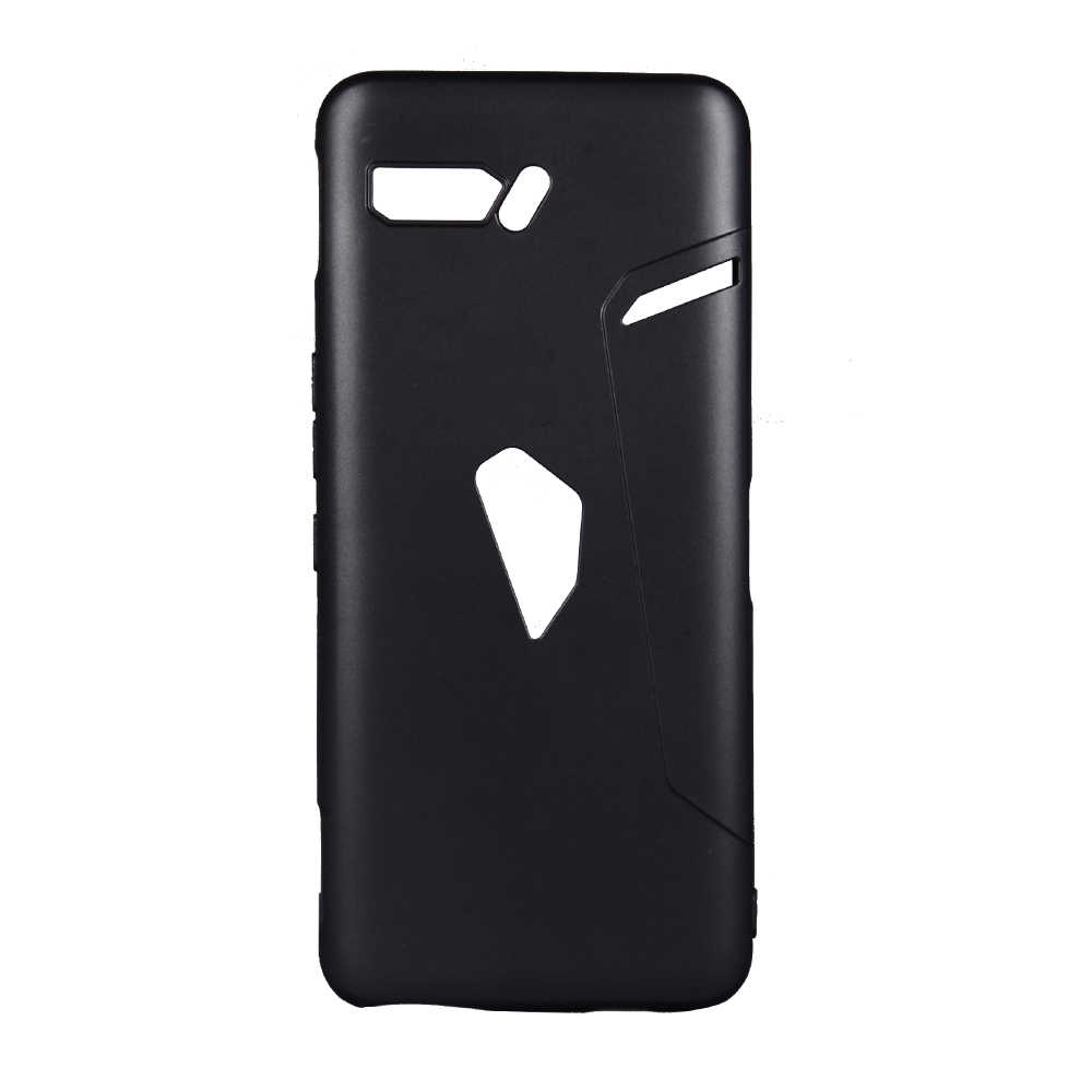 Para Asus ROG Phone II ZS660KL funda Frosted Soft Silicone contraportada para Asus ROG Phone 2 Phone2 ZS660KL cubierta