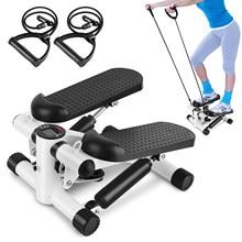 Mini Fitness Twist Stepper Elektronische Home Übung mit Widerstand Bands schritt fitness multifunktionale indoor fitness ausrüstung