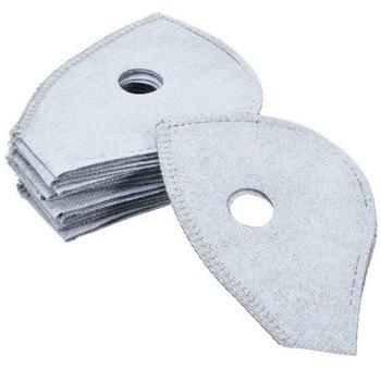 Dezodorant 4-warstwa filtr z węglem aktywnym Anti dymu kurz Purifing maska na twarz (zestaw 10 sztuk) tanie i dobre opinie Węgiel aktywny Torby Pokój