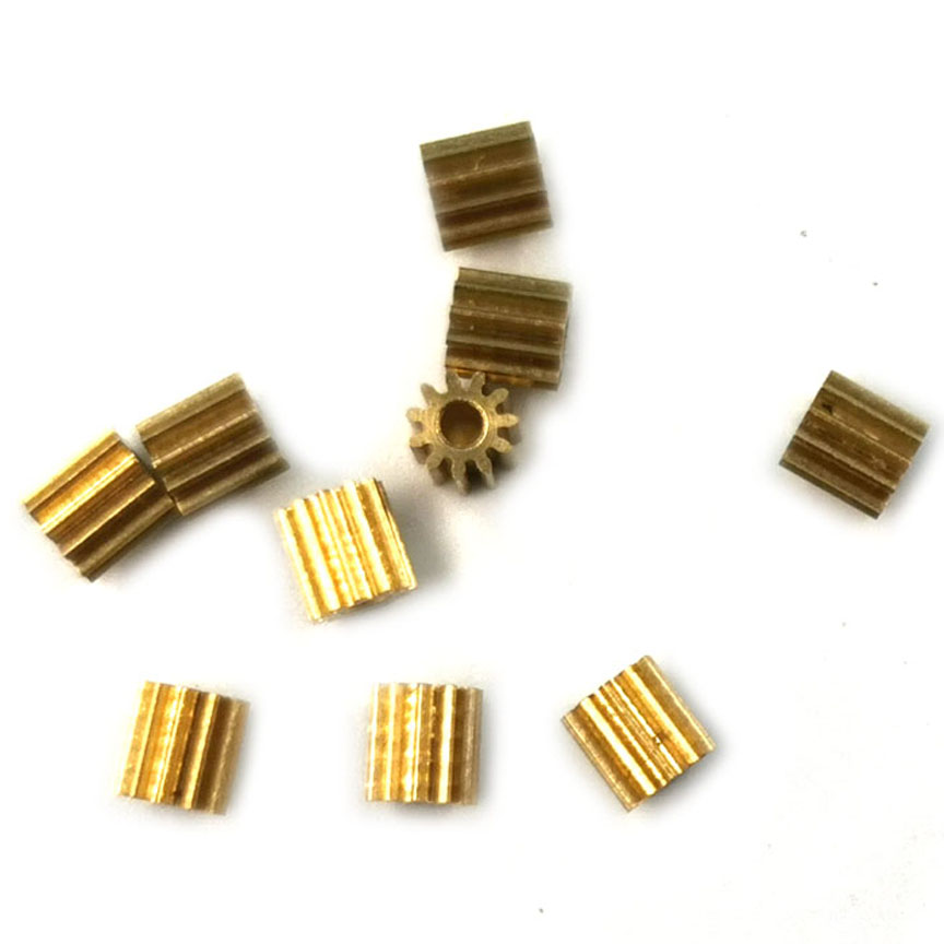 111.5A 112A 0.4M PINION 11 Tooth Hole 1.48/1.98MM Small Mode Number Gears 10pcs/lot