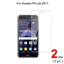 Для huawei p8 lite 2017 52 дюймов Премиум 25d Закаленное стекло