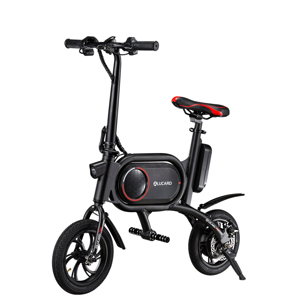 fold Electric scooter 350W Adult with seat 12 inch road tire e-bike Electric Bike Two Wheels Electric Bicycle With Removable
