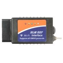 OBD2 Elm327 Wifi אבחון כלים עם HS/MS יכול להעביר שבב 18F25k80 OBD קוד קוראי עבור Windows Andriod IOS