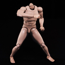 1/6 Scale Europe Skin Male Body Model Toy MX02-A Fit for 12 Figure Head with Neck