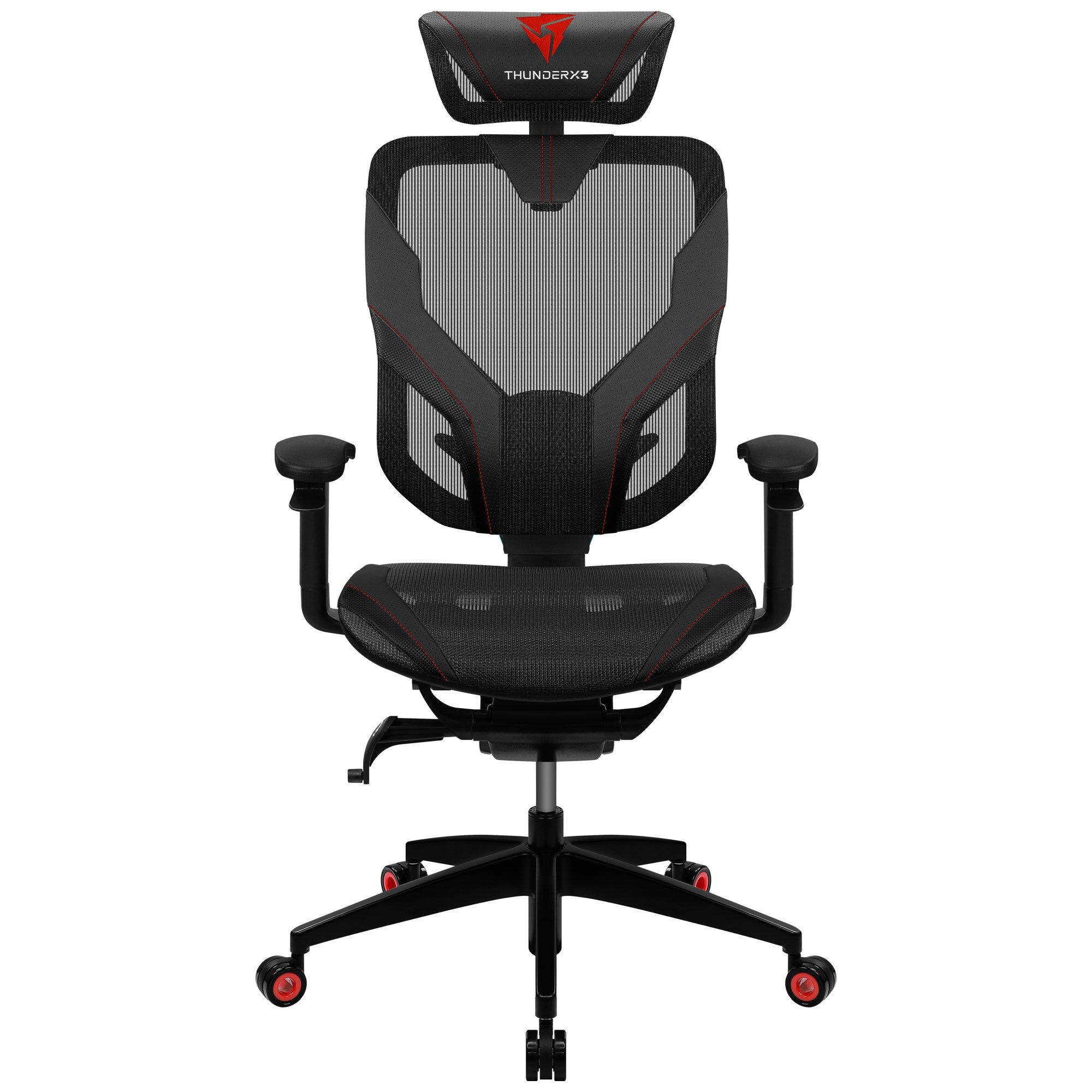 ThunderX3 Yama 7, Gaming Chair, Technology AIR, Fully Adjustable, Red