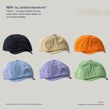 Cap Newsboy-Cap Yellow Black Woman of Green 6-Colors Bonnet Painter Orange Available
