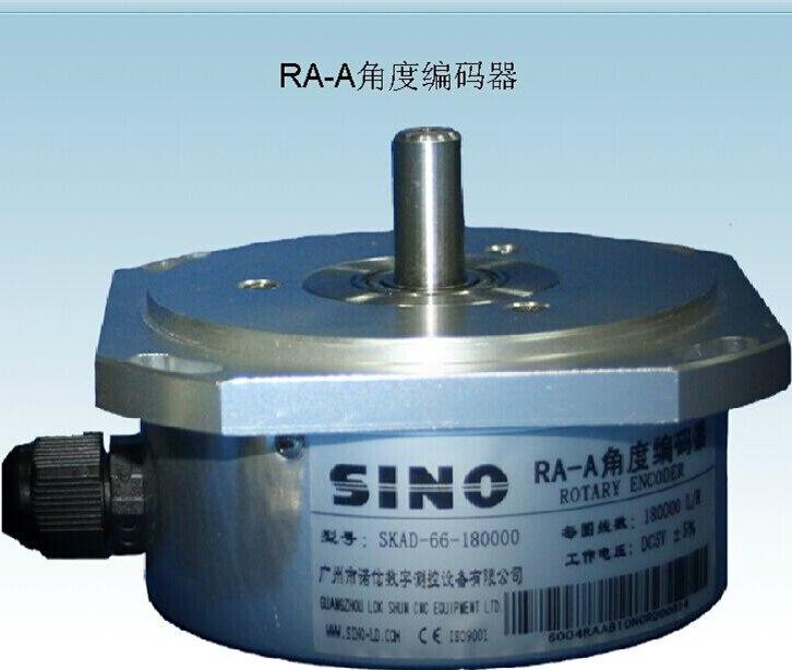 Capteur de position d'angle 180000L/R, encodeur d'angle de plateau tournant d'alésage, RA-A d'affichage numérique de table de travail rotative à grille circulaire