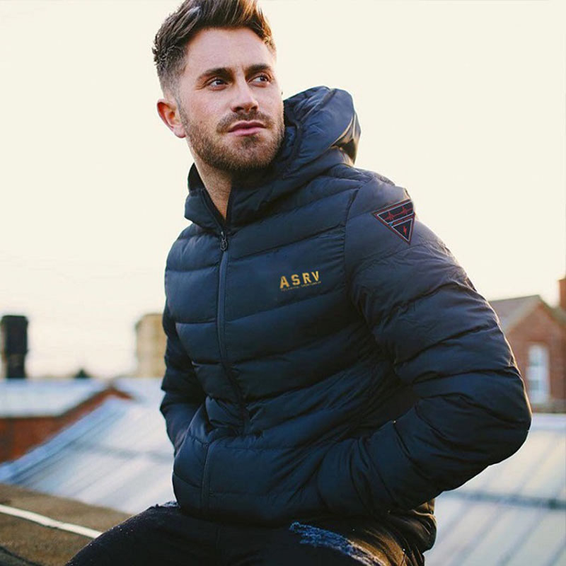 Zollrfea 2019 New Men Jacket Coats Thick Warm Winter Jackets Casual Men Parka Hooded Outwear Cotton-padded Outdoor Hiking Jacket