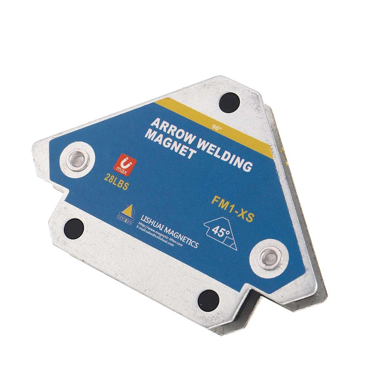 2 adet manyetik kaynak tutucular fikstür ferrit Holding yardımcı pozisyonlandırıcı bulucu araçları donanım bitirme mıknatıs tutucu
