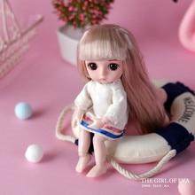 Модная Кукла, умная девочка, принцесса, игрушка, мульти-шарнир, мини игрушка, моделирование, 3D кукла, обнимается, подарок, мягкое тело для девочки, игрушка