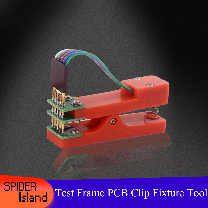 Test Frame PCB Clip Fixture Probe Download Program Programming 2.54mm 2.0mm JTAG Test Tool 2Pin-10Pin