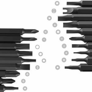 Image 5 - Youpin Wowstick 1p + Try طقم مفك براغي كهربائي 20 بت S2 هيئة الألومنيوم اللاسلكي لمجموعة عدد وأدوات دفتر الهاتف منتصف إصلاح