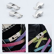 Модные яркие металлические шнурки крестовая Пряжка аксессуары