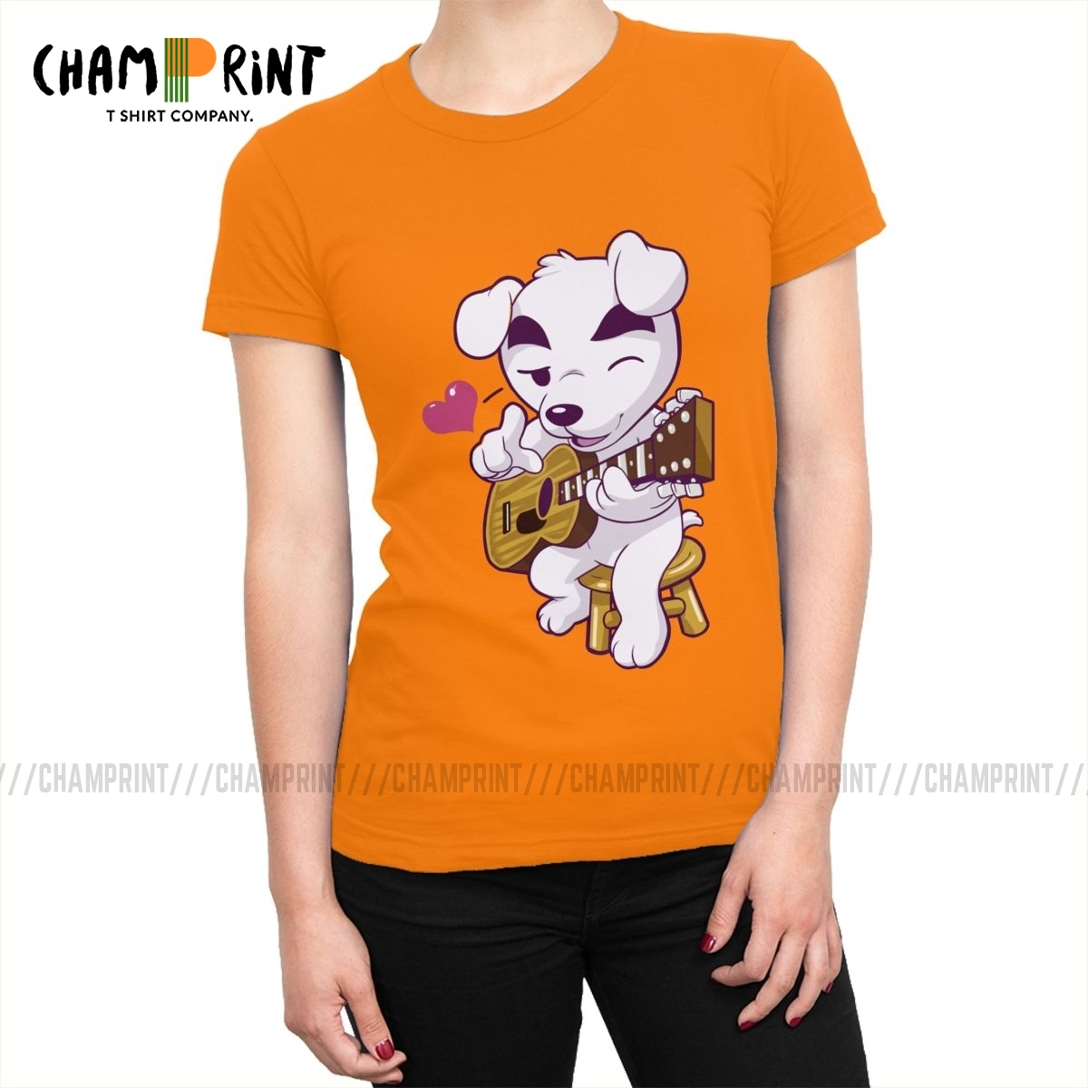 This Song Is For You T-shirt Women's All Match Animal Crossing Video Games Tshirt Ins Tee Shirt Tops Female Clothing Graphic image