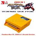 2021 Pandora Box Cx Jamma настольные игры 2800 в 1 Оригинальная 3a аркадная версия тот же ход игры 720p Pacman Tekken