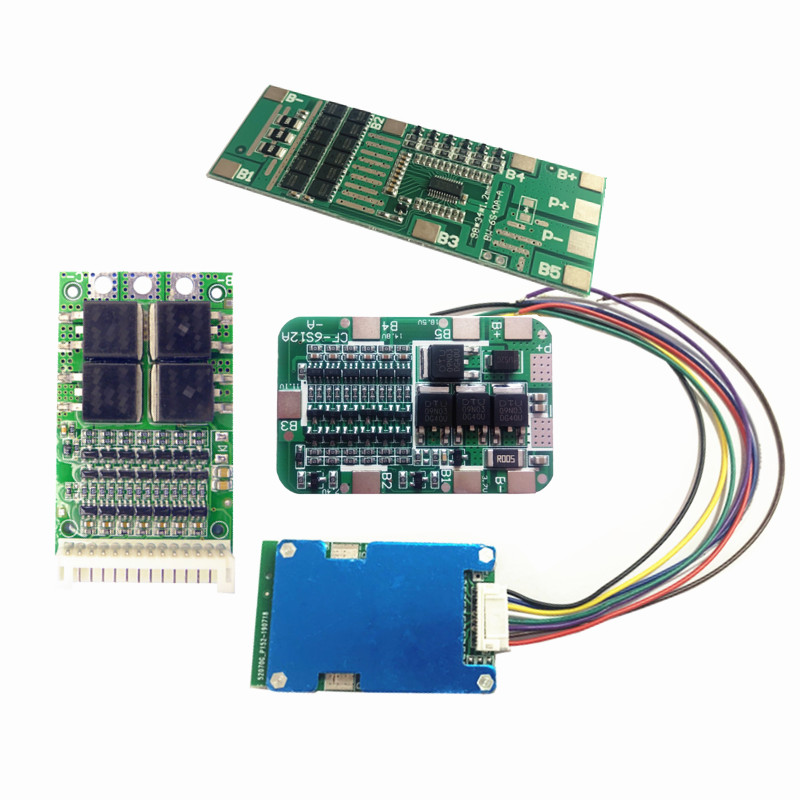 BMS 6S 15A 20A 25A 40A 24V 3.7V Lithium Protection Board For 6 Pack 18650 PCB BMS Li-ion Battery Cell Module
