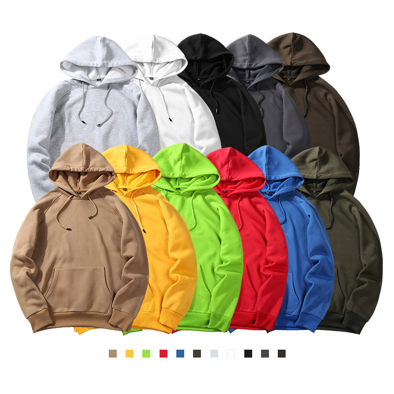 Customed Brand Men's Hoodies 2020 Autumn Winter Male Casual Hoodies Sweatshirts Men's Solid Color Hoodies Sweatshirt Tops