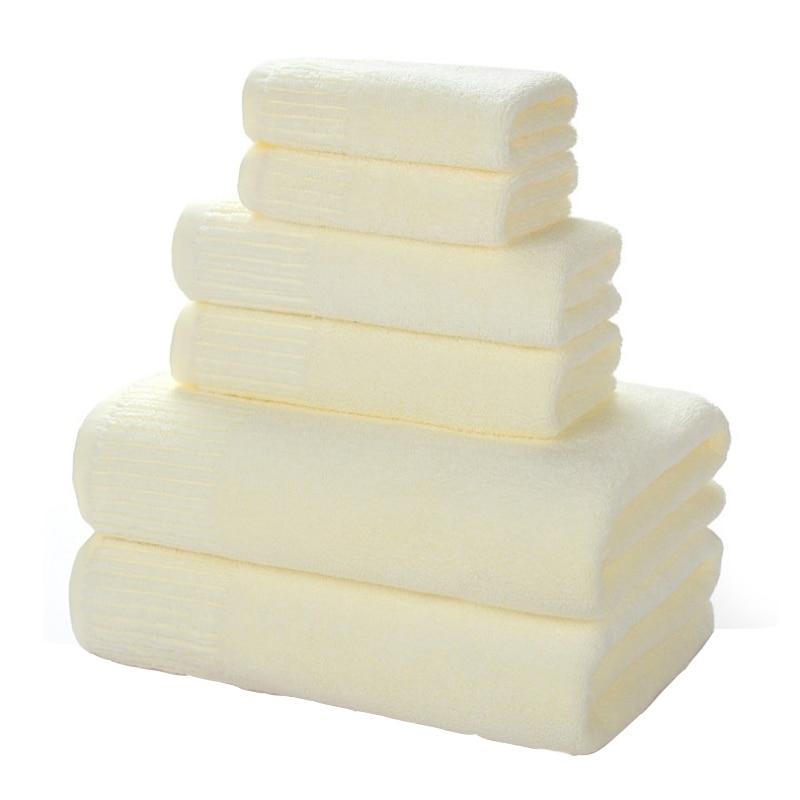 3 piece set luxury thick adult tube top cotton towel beach towel bathroom sauna room household