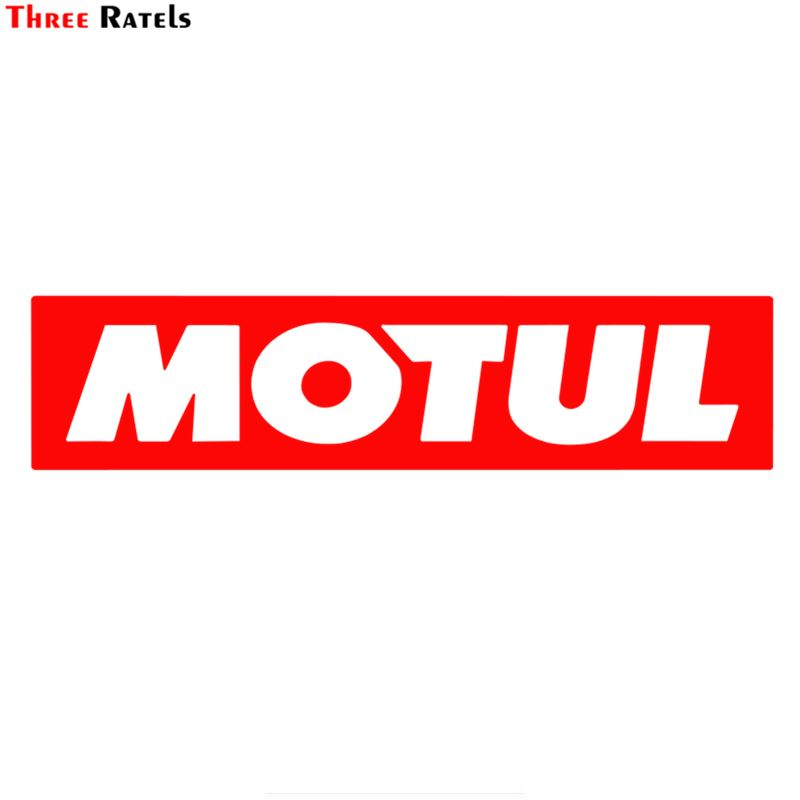 Three Ratels FC494 estilo de coche etiqueta engomada del coche de Motul Voiture por Autocollants Auto Moto Vinyle pegatinas carrera Huile