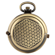 Creative Round Pocket Watch Concise Black Dial Watches for Women Classic Alloy Chain Pendant Boys