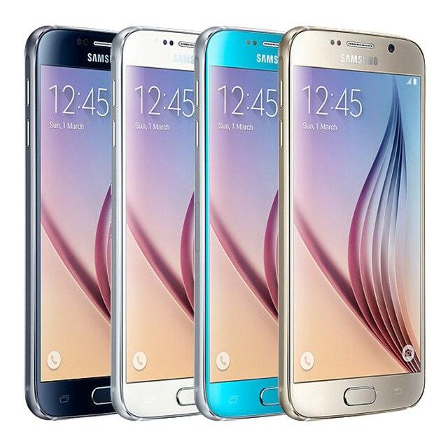 SAMSUNG Galaxy S6 Refurbished Mobile Phone S6 Egde 5.1'' 32GB ROM 3GB RAM Android Original Phone Unlocked 2