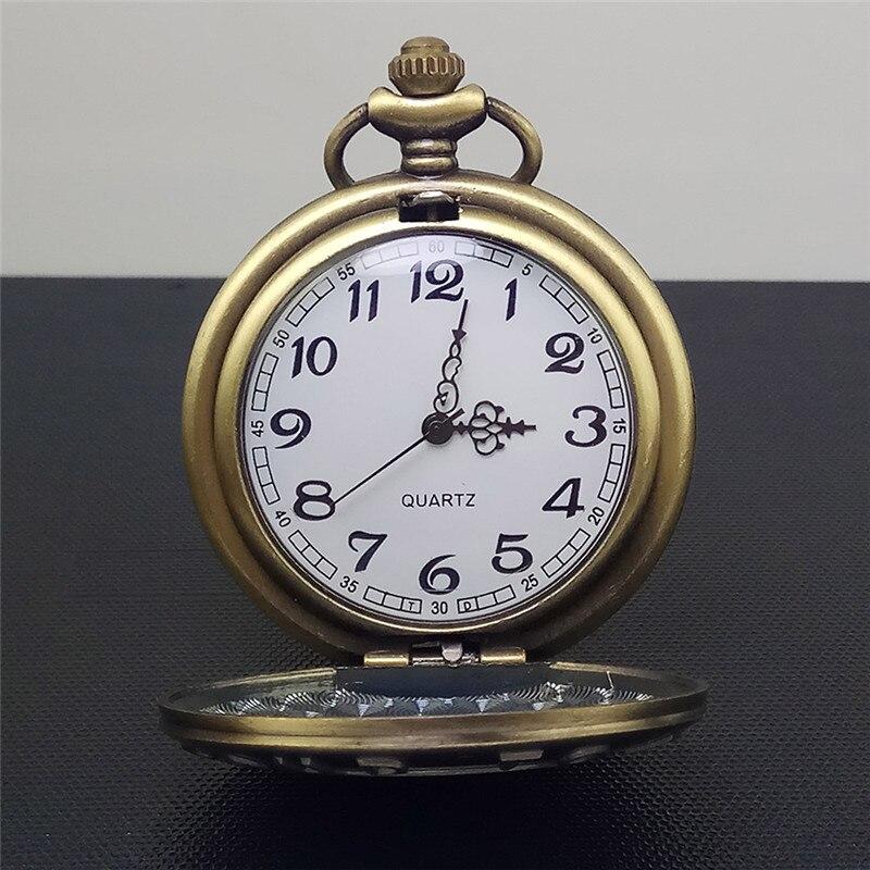 Antique Farmer Car Tractor Quartz Pocket Watch Vintage Steampunk Fob Watches Men Women Necklace Pendant Clock Time With Chain