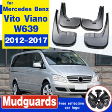 luftfederung luftfeder for mercedes vito viano w639 w638 6383280701rear air spring suspension shock a6383280601 l r pair Splash Guards Mud Flaps MudFlaps For Mercedes-Benz W639 Vito Viano 2012-2017