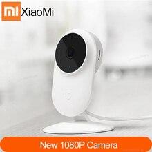Смарт Камера Xiaomi Mijia, беспроводная камера ночного видения с углом обзора 130 градусов, 1080P, 2,4G, Wi Fi, Двусторонняя голосовая связь