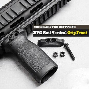 Licht Gewicht Tactical Airsoft Rvg Rail Verticale Grip Front Griff Vooruit Foregrip Voor Picatinny Rail Vervanging Accessoires