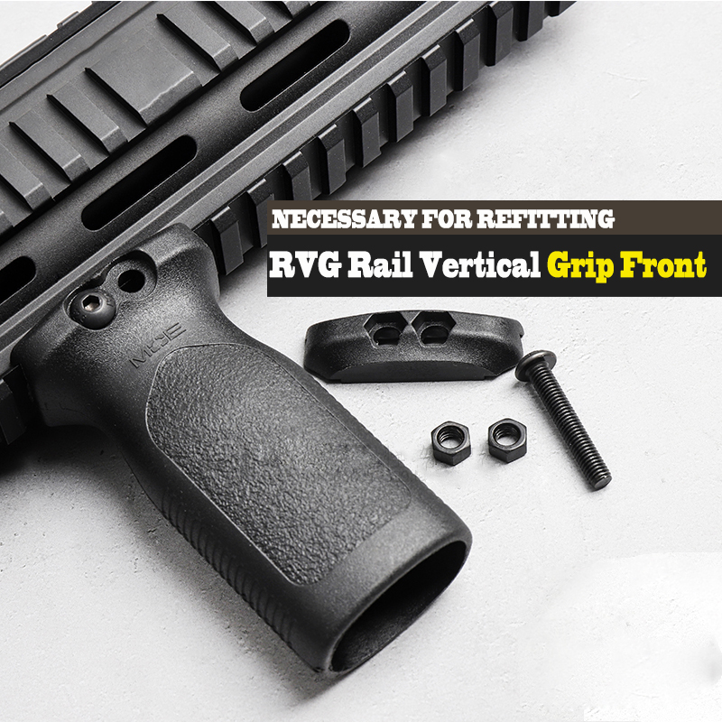 Light Weight Tactical Airsoft RVG Rail Vertical Grip Front Griff Forward Foregrip For Picatinny Rail Replacement Accessories