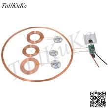Módulo de fuente de alimentación inalámbrica de 300mm, módulo de carga inalámbrica, módulo de transmisión inalámbrica, XKT801 01