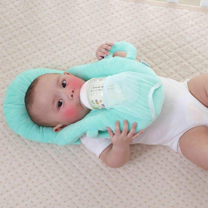 Newborn Milk Feeding Pillow Baby Nursing Support Cushion Pad Prevent Flat Head Breastfeeding Pillow