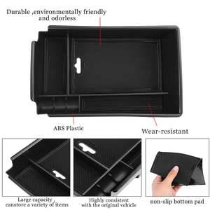 Image 4 - Car Armrest Storage Box Case Central Anti slip for Hyundai Sonata DN8 10th 2020