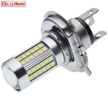 H4 66SMD Moto Motorrad HB2 9003 6V 3030 LED Front Kopf Licht Lampe Hohe Abblendlicht Motorrad Roller Scheinwerfer birne 6000K Weiß