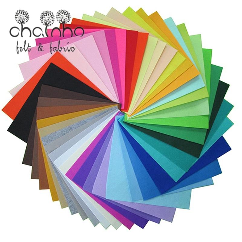 Полиэфирная фетровая Ткань DIY Ручная работа шитье домашний декор толщина 1 мм смешанный цвет 30x30 см 11.8x11.8 дюймов|polyester felt fabric|felt fabricfabric cloth | АлиЭкспресс