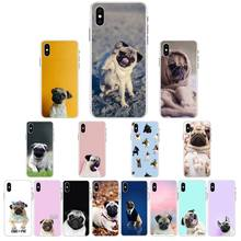 Phone-Case YNDFCNB for X XS MAX 6/6s/7/.. XR 12 11-Pro Funny Dog Pug