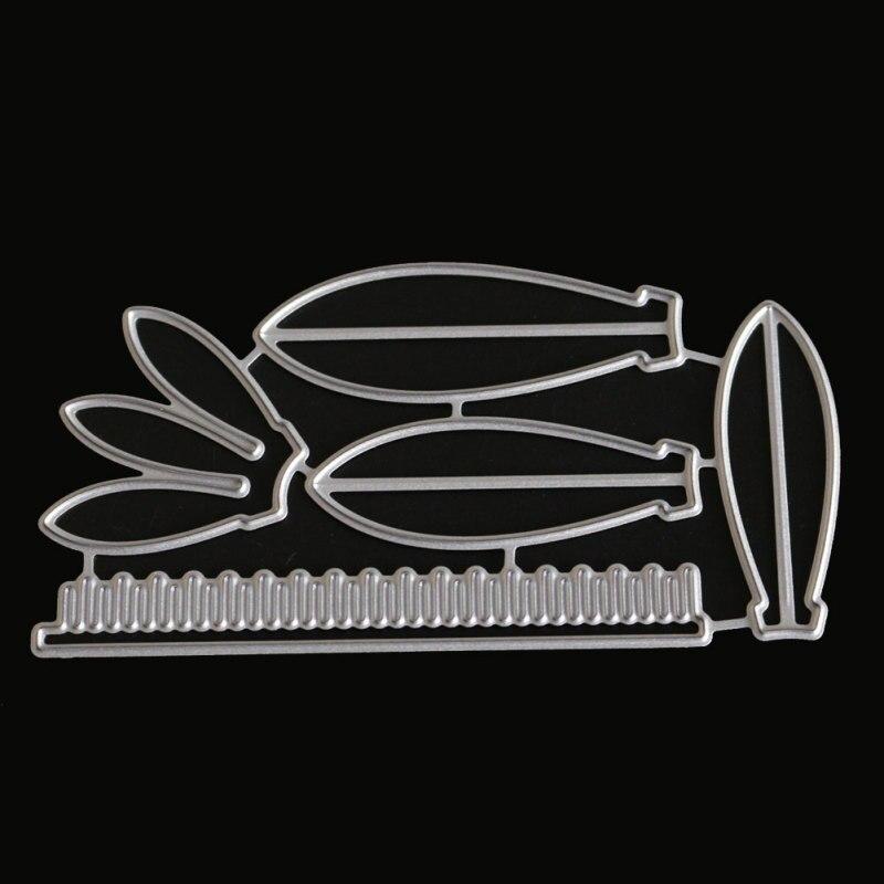 Flower Petals Cut Die Mold Blossom Metal Cutting Dies Scrapbook Album Decorative Paper Craft Knife Mould Blade Punch Stencils