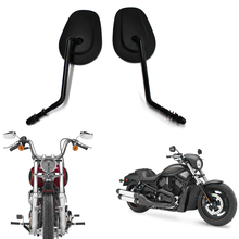 Motorcycle Rear View Side Mirrors For Harley Touring Road King Sportster 883 Dyna  Fatboy Softail Bobber Chopper Street Glide