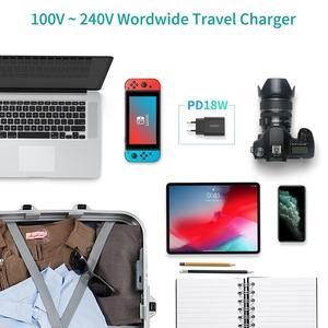 "Image 4 - CHOETECH USB סוג C פ""ד מטען 18W עבור iPad iPhone 11 פרו מהיר תשלום 4.0 QC 3.0 מהיר קיר מטען עבור huawei סמסונג xiaomi"