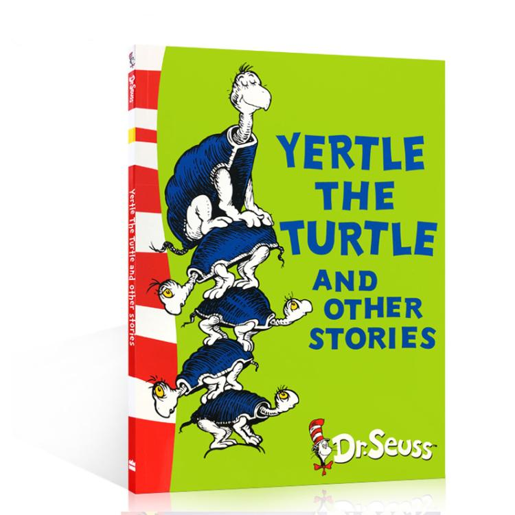 Books For Kids Yertle The Turtle And Other Stories Dr Seuss In English Book For Children Learning English Early Educational Toys