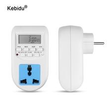 Timer-Switch Eu-Plug Energy-Saving Smart Electronic Kebidu Digital Timer-Programmable