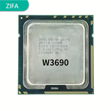 Intel Xeon W3690  w3690 CPU processor /3.46GHz /LGA1366/12MB L3 Cache/Six-Core/ server CPU Free Shipping, 100% work