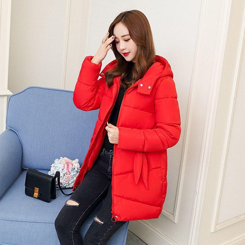 [EAM] 2019 Новинка весны с капюшоном одноцветное цвет светло серый утолщение большой размеры Vent теплый жакет, женский пиджак Мода прилив JE02002 - 4