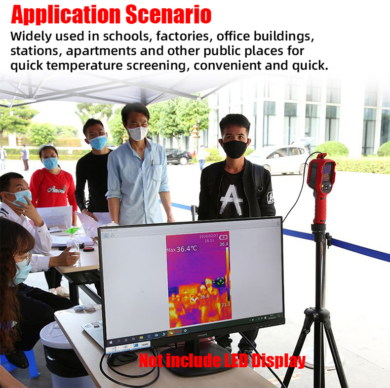 A-BF Infrared Thermal Imager with Real-Time Image Transmission and High-Temperature Alarm Prompt 10