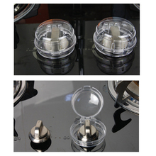 Cover Children Oven Protection Kitchen Knob Padlock-Lid Gas-Stove Baby Safety New 6pcs